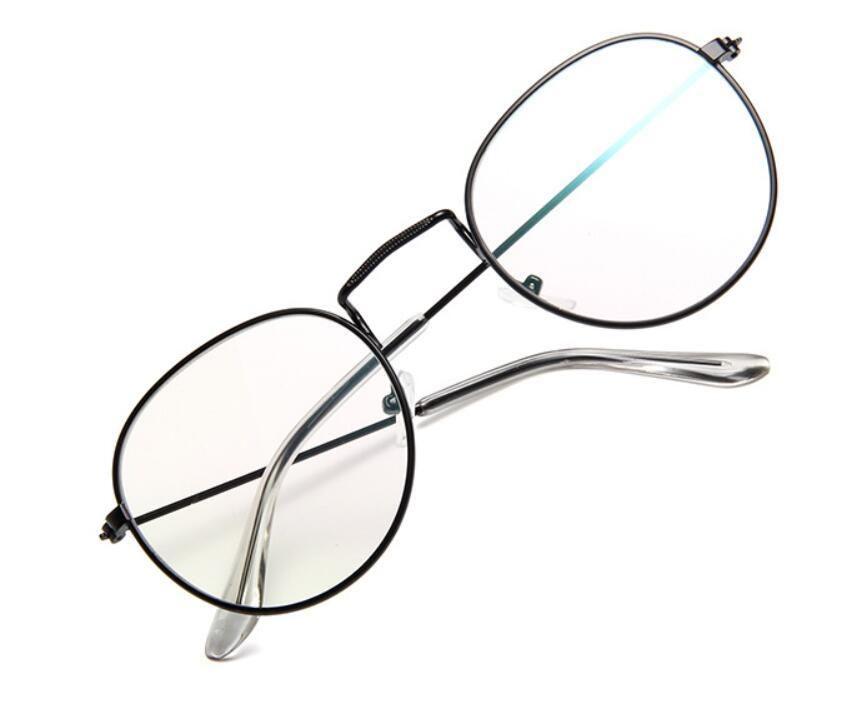 Las mujeres Gafas de sol marcos de diseño nueva ronda gafas de sol del marco del metal de los hombres de Eyewear Gafas de sol con la bolsa de Deportes