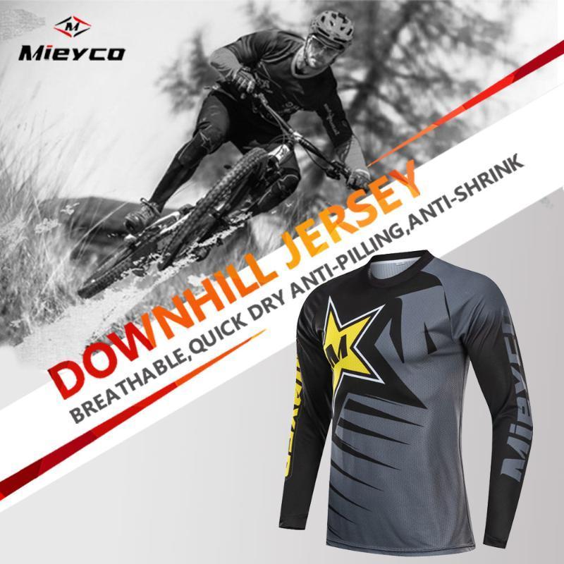 Cycling clothe men Mountain Bike Jerseys motocross MTB bike clothes cycling jersey DH Motorcycle shirt downhill Clothing
