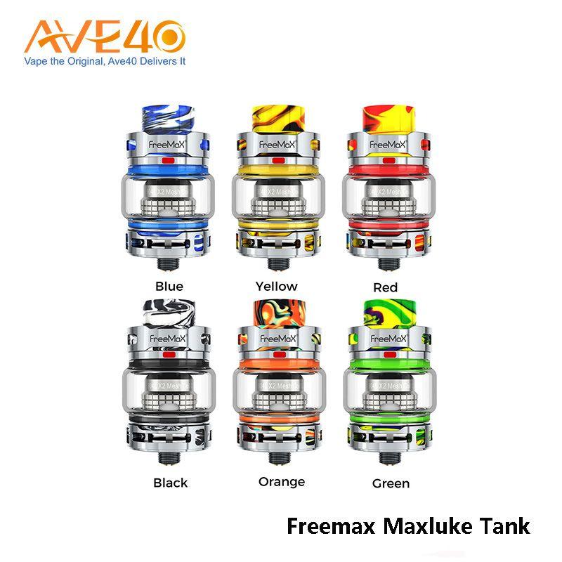 Original Freemax Maxluke Subohm Tank 5ml Capacity fit with Freemax 904L X1 Mesh 0.15ohm Coil