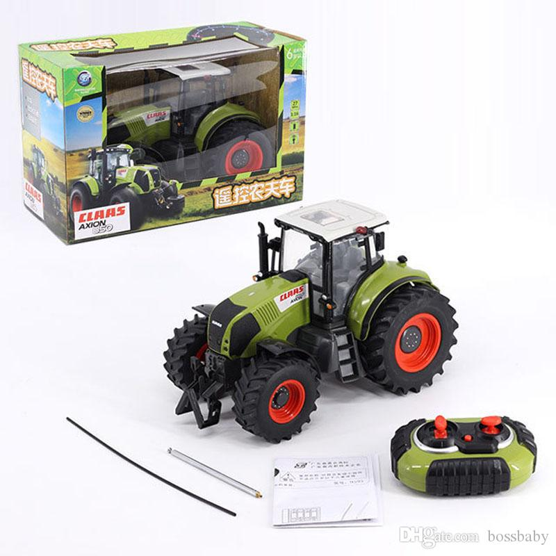 Off-Road Farmer Car 1:16 Charge Child Model Remote Control Cars Toys Kids Christmas Gifts Toys Car 4-6T 07