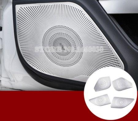 Mat İç Kapı Hoparlör Kapağı Trim Mercedes Benz E Class Coupe Için 4 adet W207 C207 2009-2016