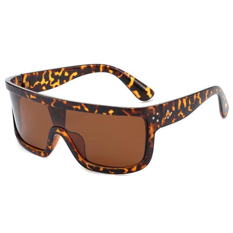 Lunettes Nouveaux hommes lunettes de soleil lunettes de soleil Big Hommes pour femmes et gros bouclier de conduite Sun 2020 Lentilles polarisantes 4 couleurs Uqhem polarisé