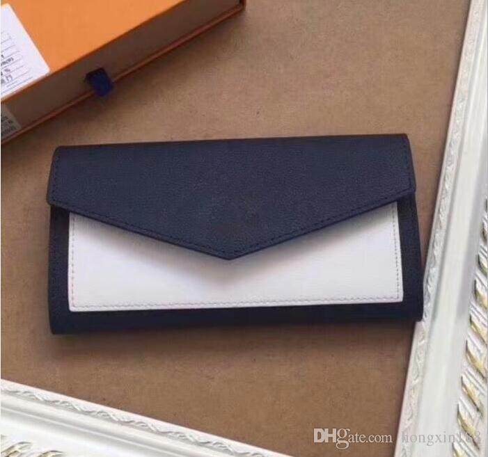 женщины кошельки длинные натуральная кожа кошелек роскошные доллар цена женский кошелек повседневная carteira feminina карты сумки большой металлический logo62647