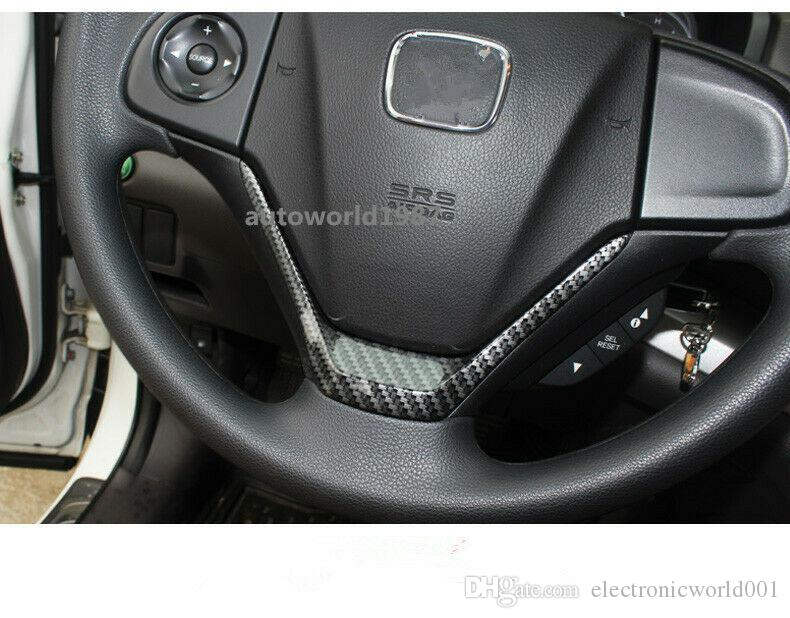 Honda CRV 2012-2016 için ABS Karbon Fiber Stil Merkezi direksiyon