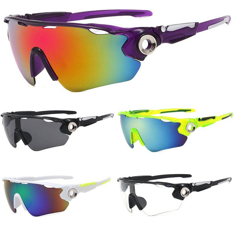 hombres mujeres nuevo diseñador montar gafas de sol protección UV 400 gafas de montaña bicicleta de carretera Bicicletas Pesca Glasses