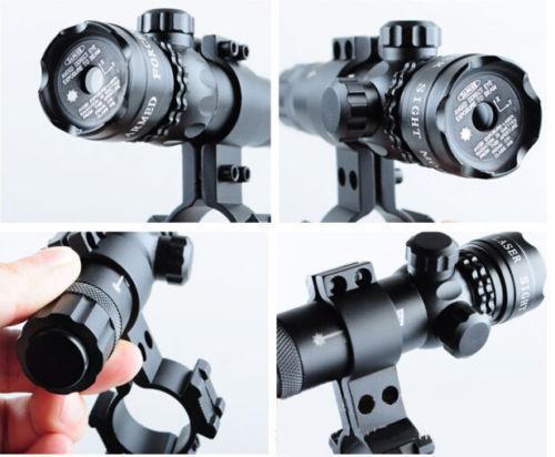 Per 9-23mm tubo tattica del laser di alluminio verde del laser di Red Dot Mirino per Fucili da caccia Pistola
