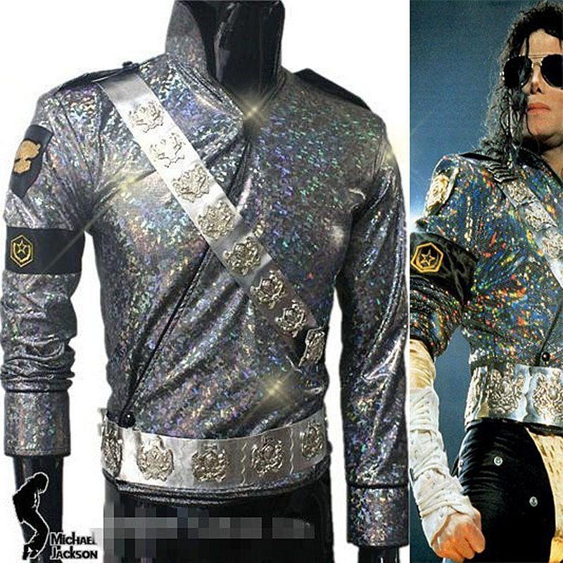 Michael Jacksons Halloween 2020 2020 MJ MICHAEL JACKSON DANGEROUS TOUR JAM JACKET & BELTS SET Pro