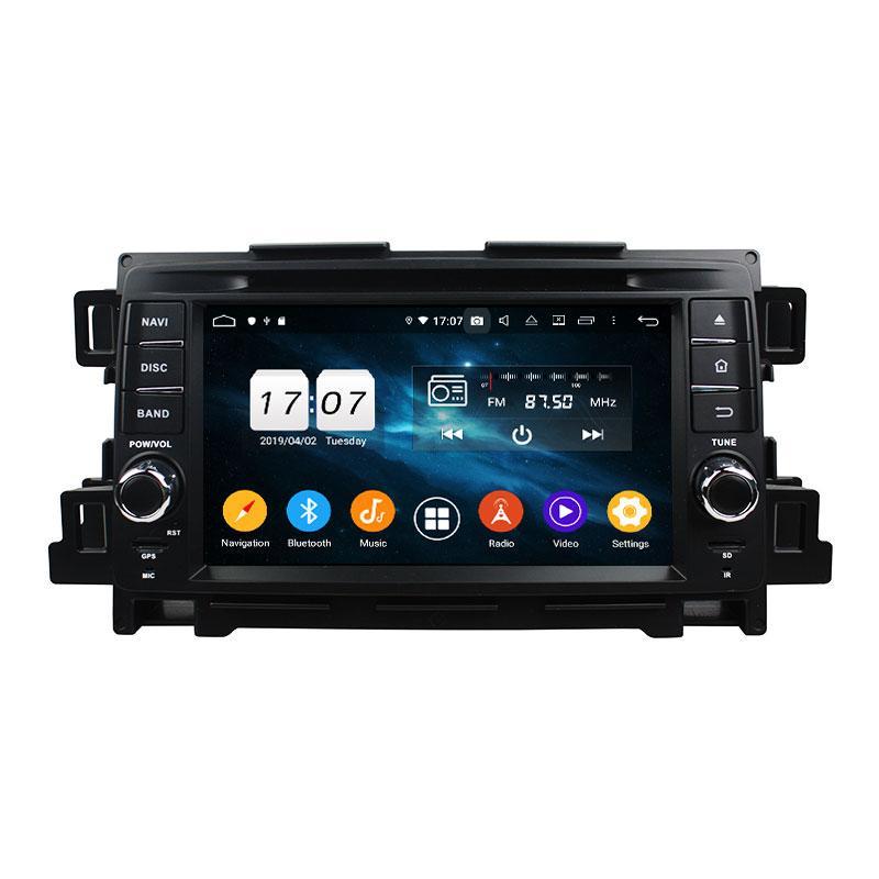 8 noyau Android 9.0 4G RAM ROM 32G voiture GPS Lecteur DVD Navi pour Mazda CX-5 2011- 2012