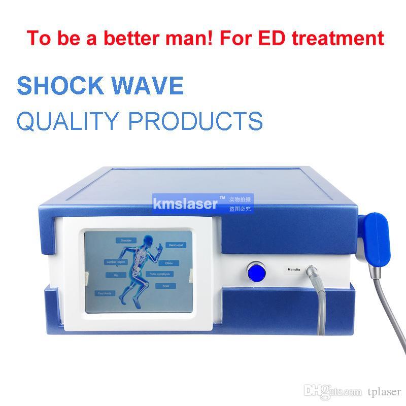 Precio de fábrica !!! Alemania Thomas marca compresor terapia de ondas de choque neumáticas para la disfunción eréctil masculina ED terapia Fascitis plantar