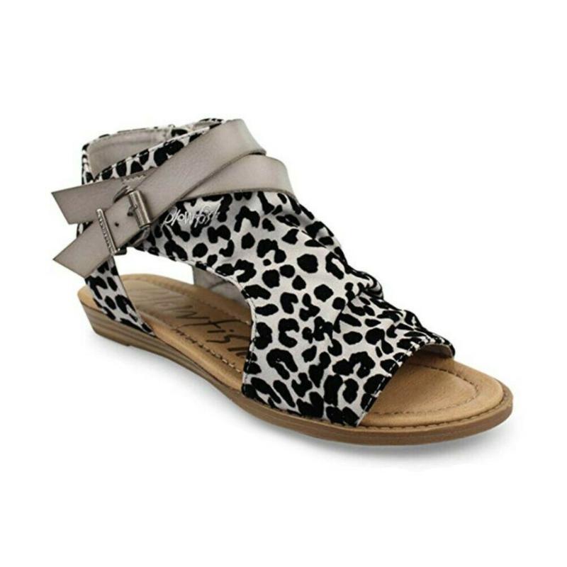 2020 Estate Sandali Della Cinghia Delle Donne Appartamenti Open Toe Leopardo Scarpe Casual Roma Plus Size Sandali Perizoma Sexy Scarpe Da Donna