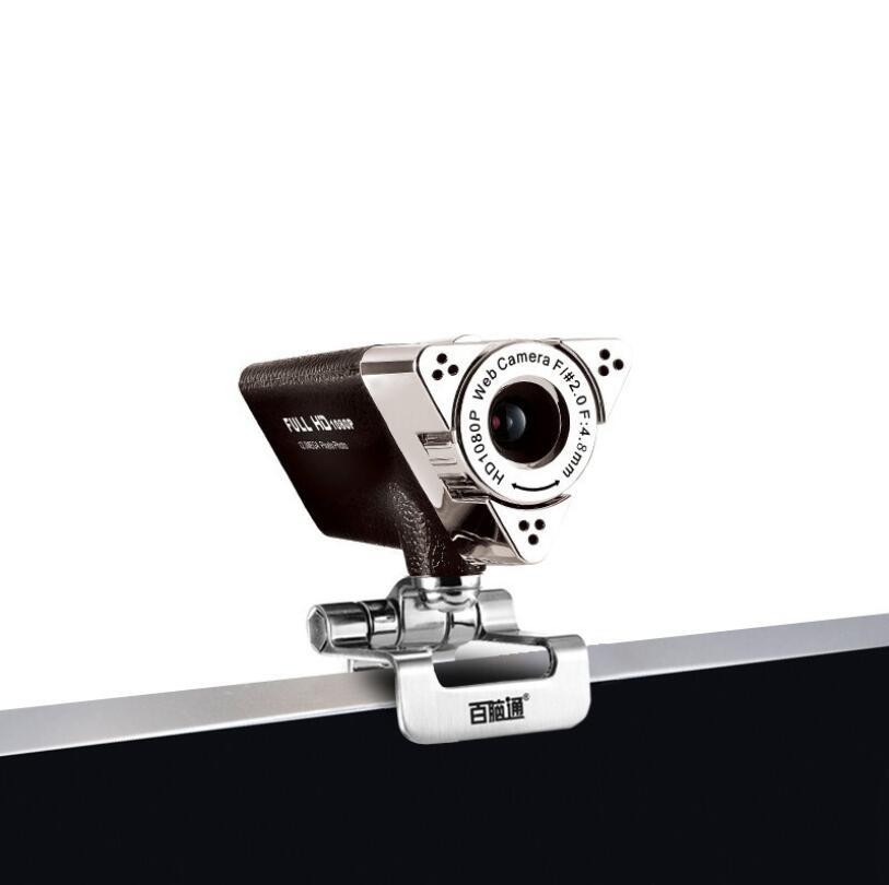 T7s USB Веб-камеры Веб-камеры Компьютеры Фото- Aoni-Full HD 1080P Настольный компьютер Живая камера с микрофоном USB Видео Веб-камера