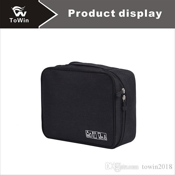 Lady Cosmetic Case Классическая практичная сплошная цветная косметичка Профессионально индивидуальные чемоданы для хранения Универсальная косметичка Портативная сумка