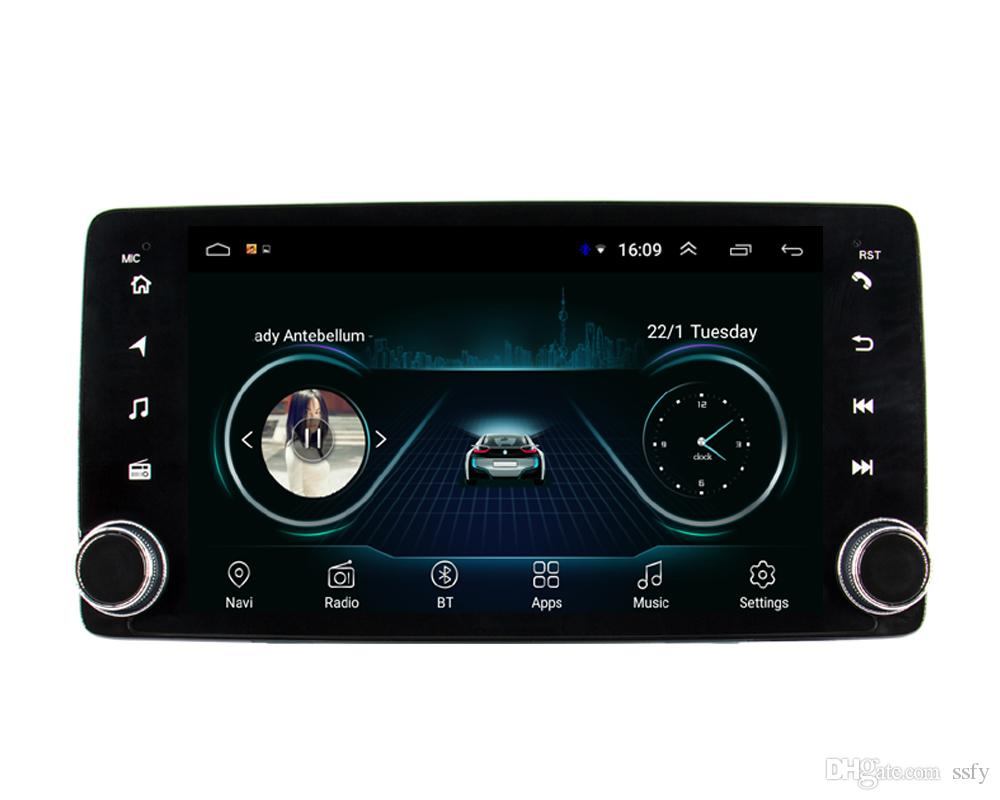 Android car mp3 mp4 player excellent bluetooth Resolution HD1080 front camera free map fast delivery for Honda accord 10 2018-2019 9inch