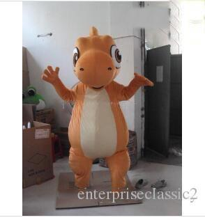 2019 Discount factory sale Adult Size Custom Made Dragon Mascot Costumes Cartoon Dress Free Shipping Custom Made Any Size