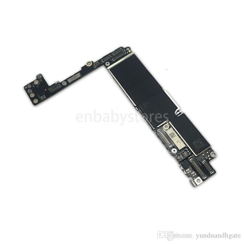 E 7 für Plus Iphone 128g Motherboard ohne Touch Id Nofingerprint, ursprünglichen entriegelte Logic Board durch freies Verschiffen