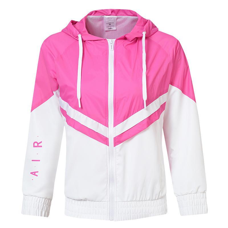 Moda Marca Sport Jacket para Windbreaker Mulheres Primavera Outono camisola de alta qualidade Outwear 2020 New Arrival 4 cores Tamanho Atacado