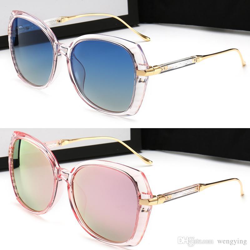 Vente en gros de la nouvelle mode de créatrice de mode Protection Summer Square Eyewear Avant-Garde Populaire de qualité UV400 Top Cadre avec Sunglasses Style Nous PXDQI