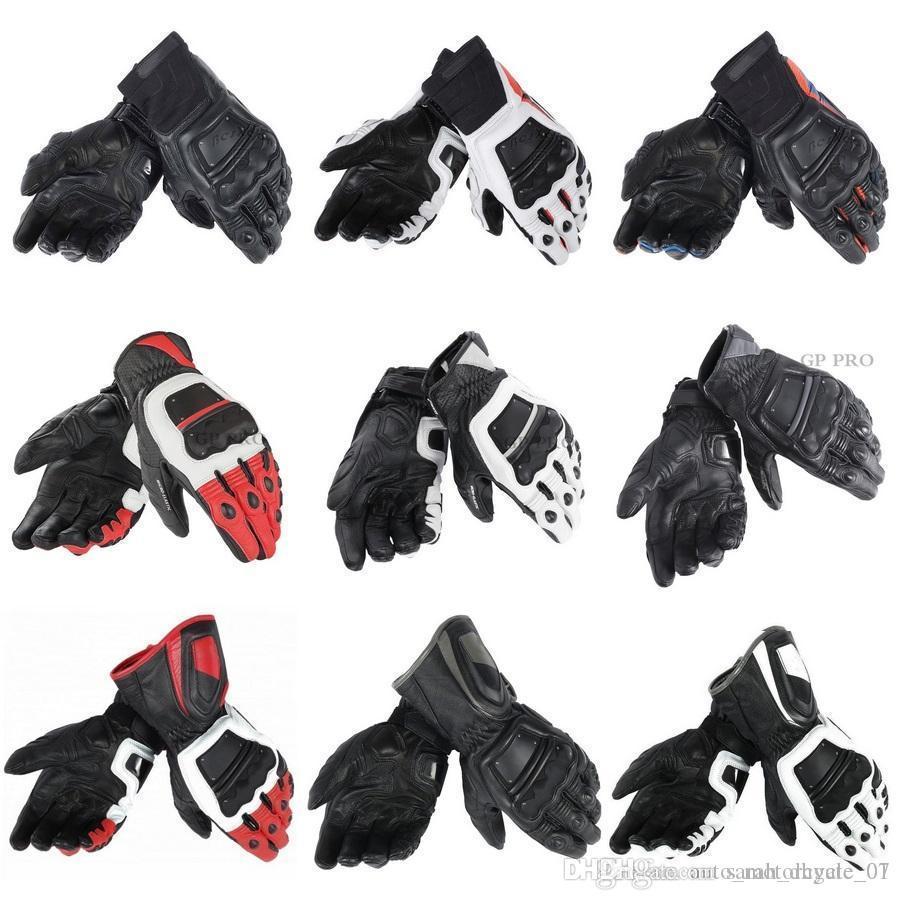 New 100% Genuine Leather 4 STROKE EVO Motorcycle Gloves MotoGP M1 Racing Driving GP PRO Original Race Pro In Motorbike Gloves