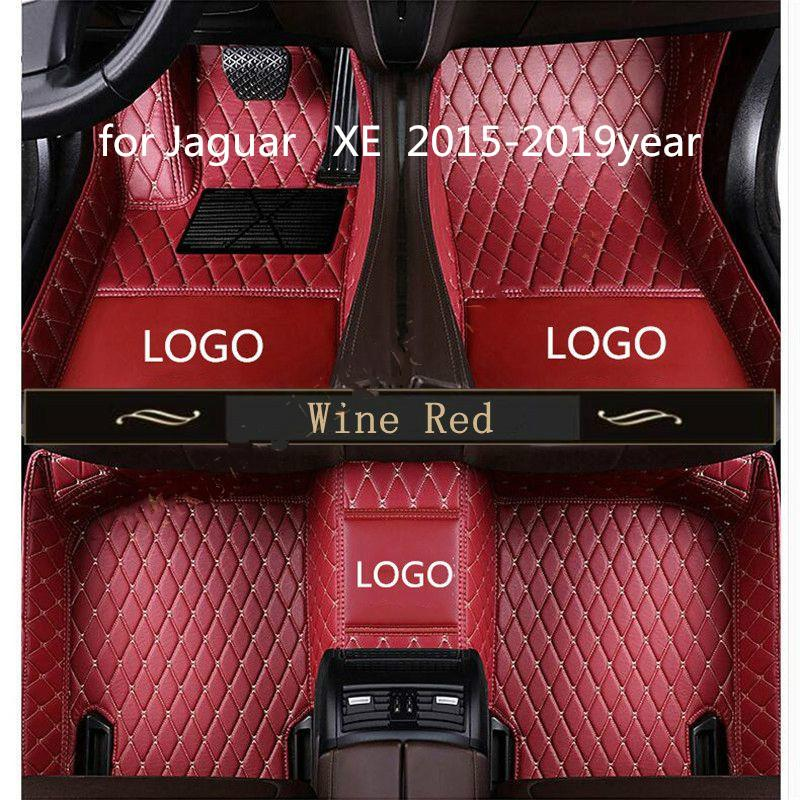 for Jaguar XE 2015-2019year non-slip non-toxic foot pad car foot pad