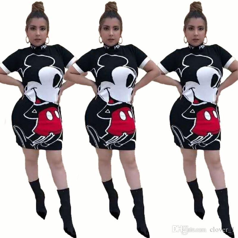 Kadın tasarımcı diz üstü etek kısa kollu tek parça elbise yüksek kalite bodycon elbise seksi zarif lüks moda etek klw1653
