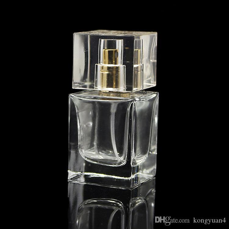 QUALIDADE SUPERIOR 30 ml Frascos De Perfume De Vidro Spray Atomizador Recarregável Recipiente De Perfume De Garrafa 30 ML