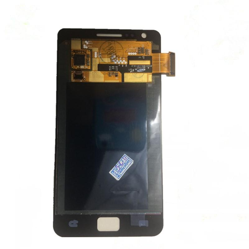 100% Tested LCD Display For Samsung S2 i9100 LCD With Touch Screen Digitizer Assembly Without Frame For Samsung Galaxy S2 i9100