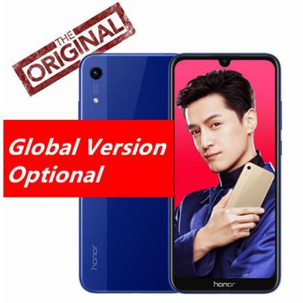 """Versione globale Huawei Honor 8A Smartphone 6.09 """"MT6765 Octa Core Android 9 Face ID 3 Slot per schede Dual Camera Fingerprint 4G Phone"""