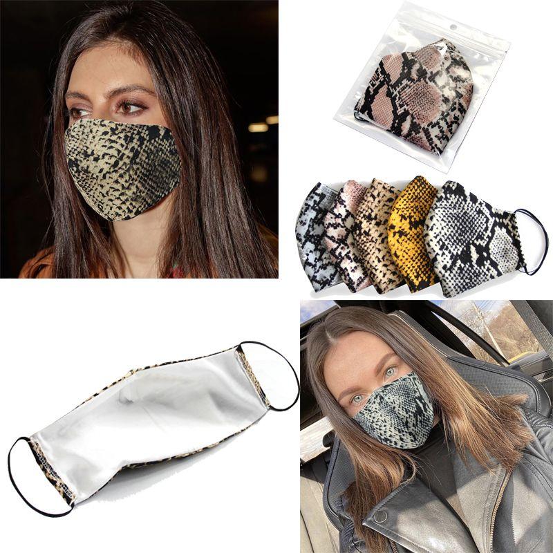 Moda Leopard face de impressão Máscara Designer Máscaras Criatividade Luxo lavável prova de poeira exterior Desporto Ciclismo Máscara Homens e Mulheres Imprimir Máscara