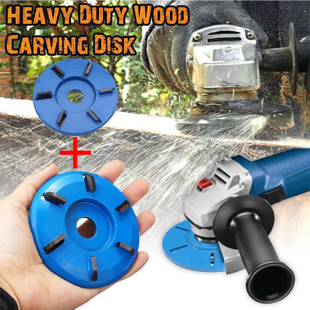 3//6 Teeth Wood Working Carving Disc Milling Cutter For Aperture Angle Grinder EU