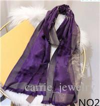 Neue Art und Weise Silk Schal heißen Verkauf-Frauen-Schal-Schal Schal Größe 180x70cm 6 Farbe