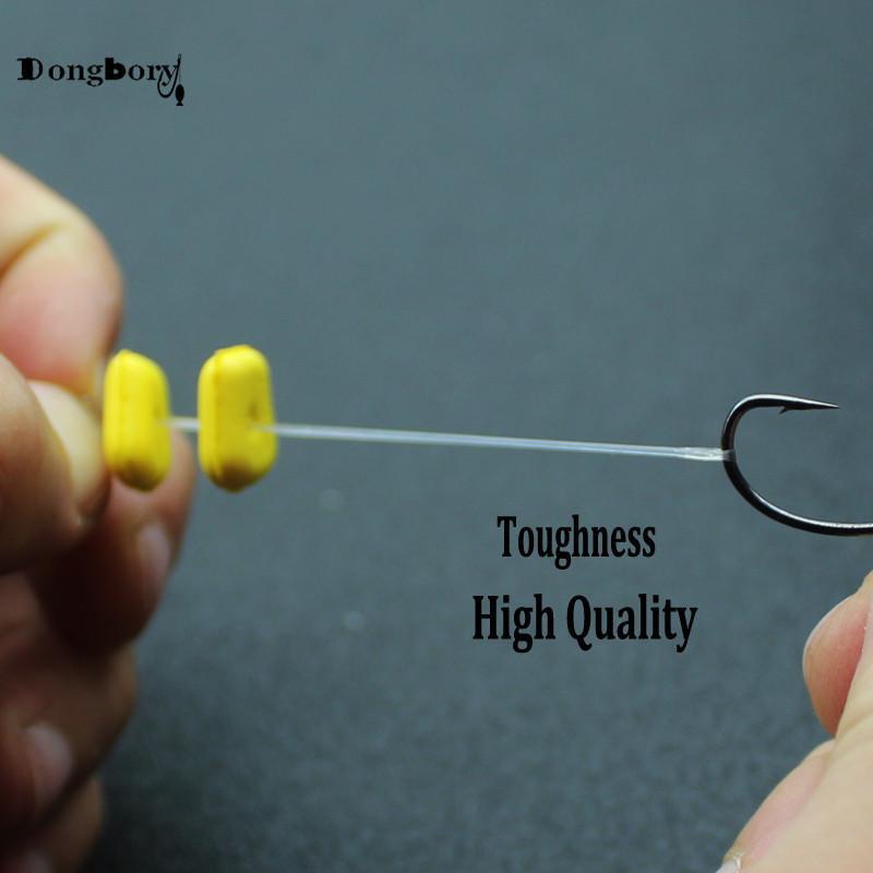 10 Set//60 Pcs Fishing Carp Boilie Inserts Hair Rigs Fishing Bait Stops Hair Rig
