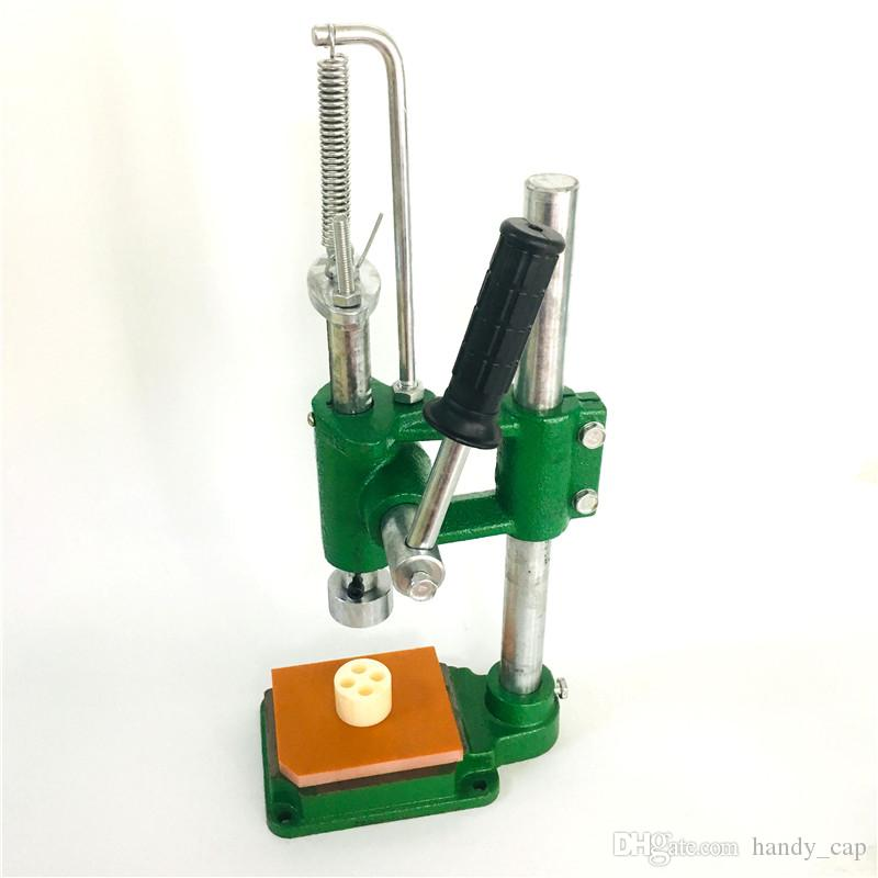 Vape Cartridges Press in Machines Press-on Tool Arbor Manual Machine Press Tools Electronics For Pressing in Drip Tip 1.0ml 0.8ml 0.5ml Atomizers E Cigarette Vaporizers
