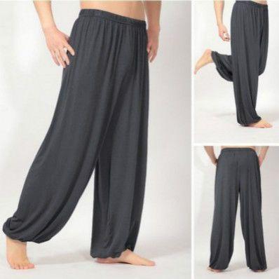 Herren Designer Yoga Pants Morgen-Übung Jogginghose lose breite Bein-Fitness Jogginghose mit hoher Taille beiläufige lange Hosen Hot Sale