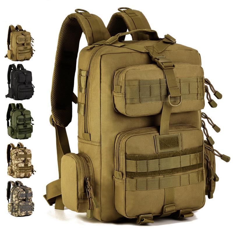 Ordu Taktik Sırt Çantası 30L Mochila Militar 14 inç Laptop Sırt Çantası Açık Kamp Yürüyüş Kamuflaj Çantası Bolsa Tatica