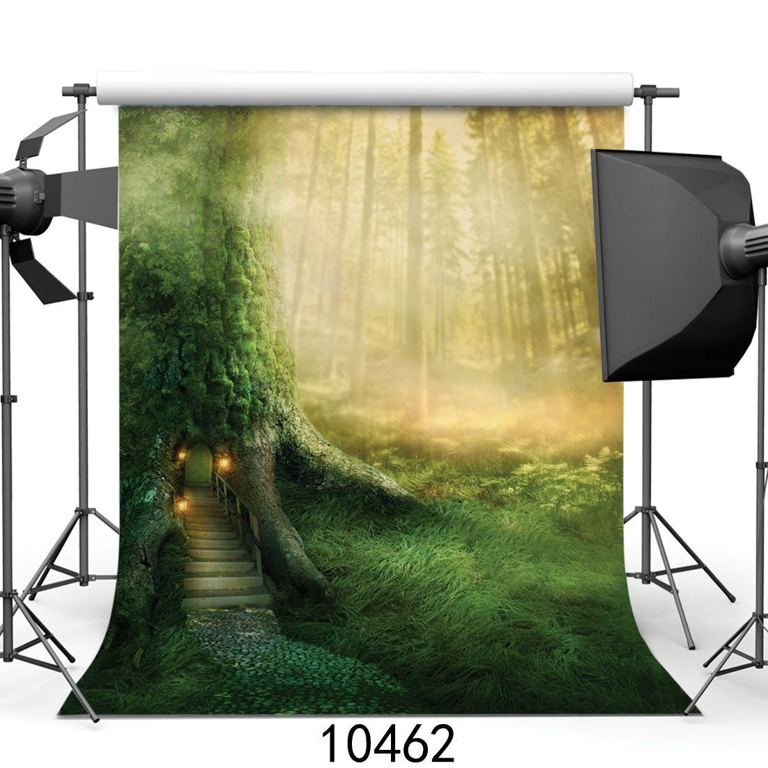 Vinyl Benutzerdefinierte Fotografie Kulissen Prop digital gedruckt vertikale Landschaft Thema Fotostudio Hintergrund JLT-10462
