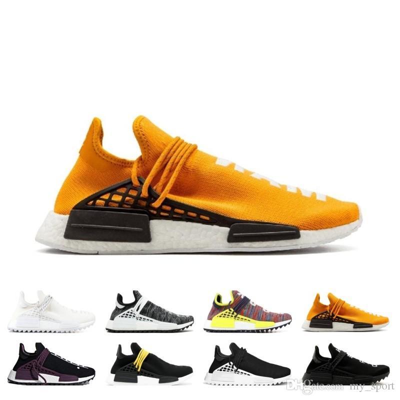 Adidas PHARRELL X NMD HUMAN RACE Yellow eBay