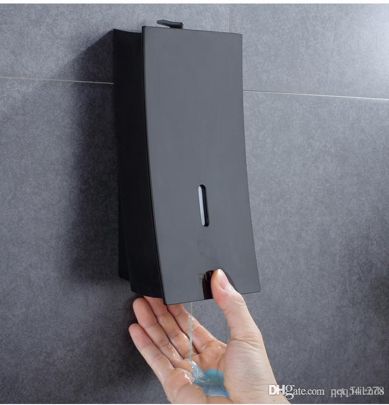 جدار جبل موزع الصابون السائل موزع شامبو اليد لغسل الحمام الحمام دليل حقنة بندقية