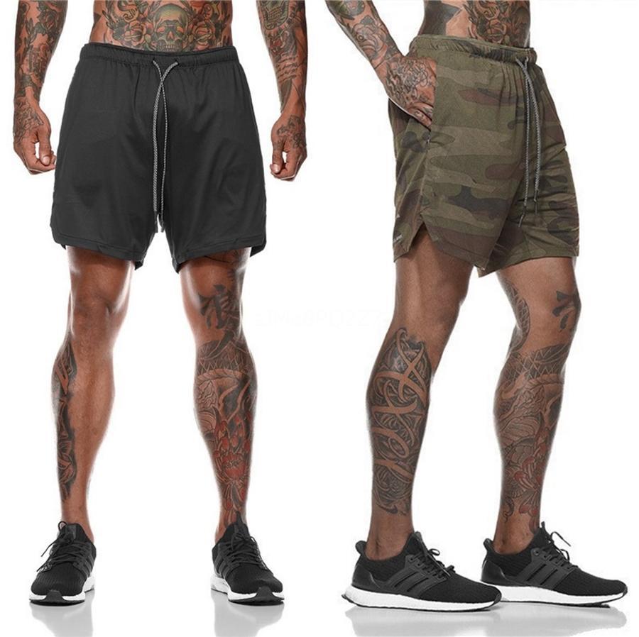 Erkek Yaz Spor Şort Moda Sıkıştırma Hızlı Kurutma Spor Salonları Vücut Koşucular Şort Slim Fit Giyim Sweatpants # 509