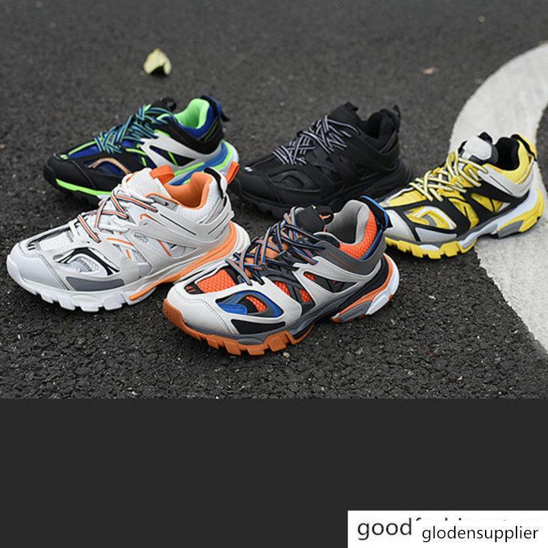 Triple S 3.0 Paris Baixo 3M Authentic Designer Shoes Dad maille Gomma Tess S Triple S Trainers Clunky sapatilha 40-45