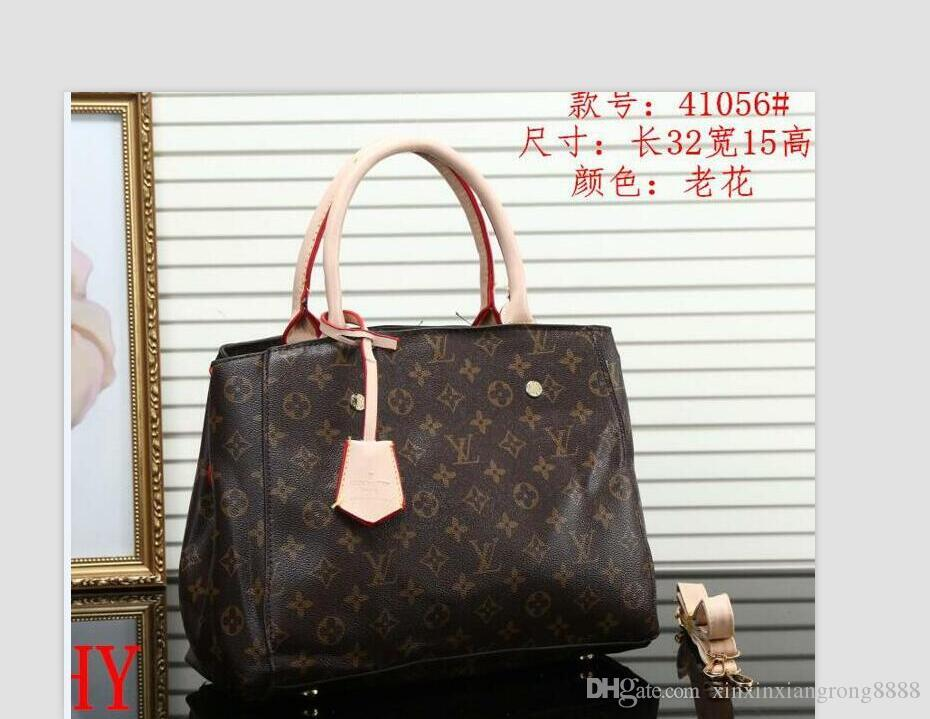 L36V Home Bags, Luggages & Accessories Fashion Bags Shoulder Bags Product detail New Famous Classical Women Shoulder Bag Top G0G