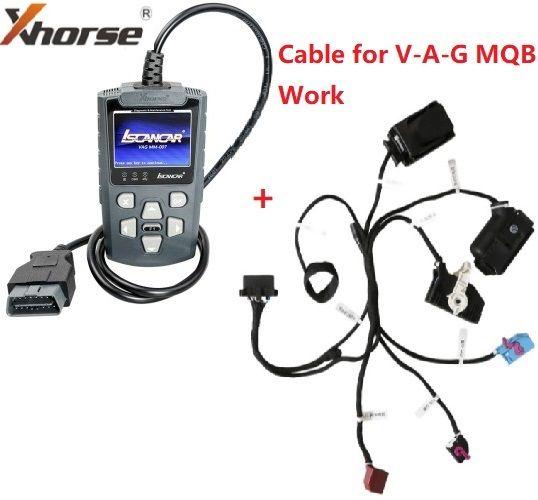 Xhorse Iscancar VAG MM007 Diagnostic and Maintenance Tool Support Offline Refresh forVW Audi Skoda Seat & MQB Mileage Correction