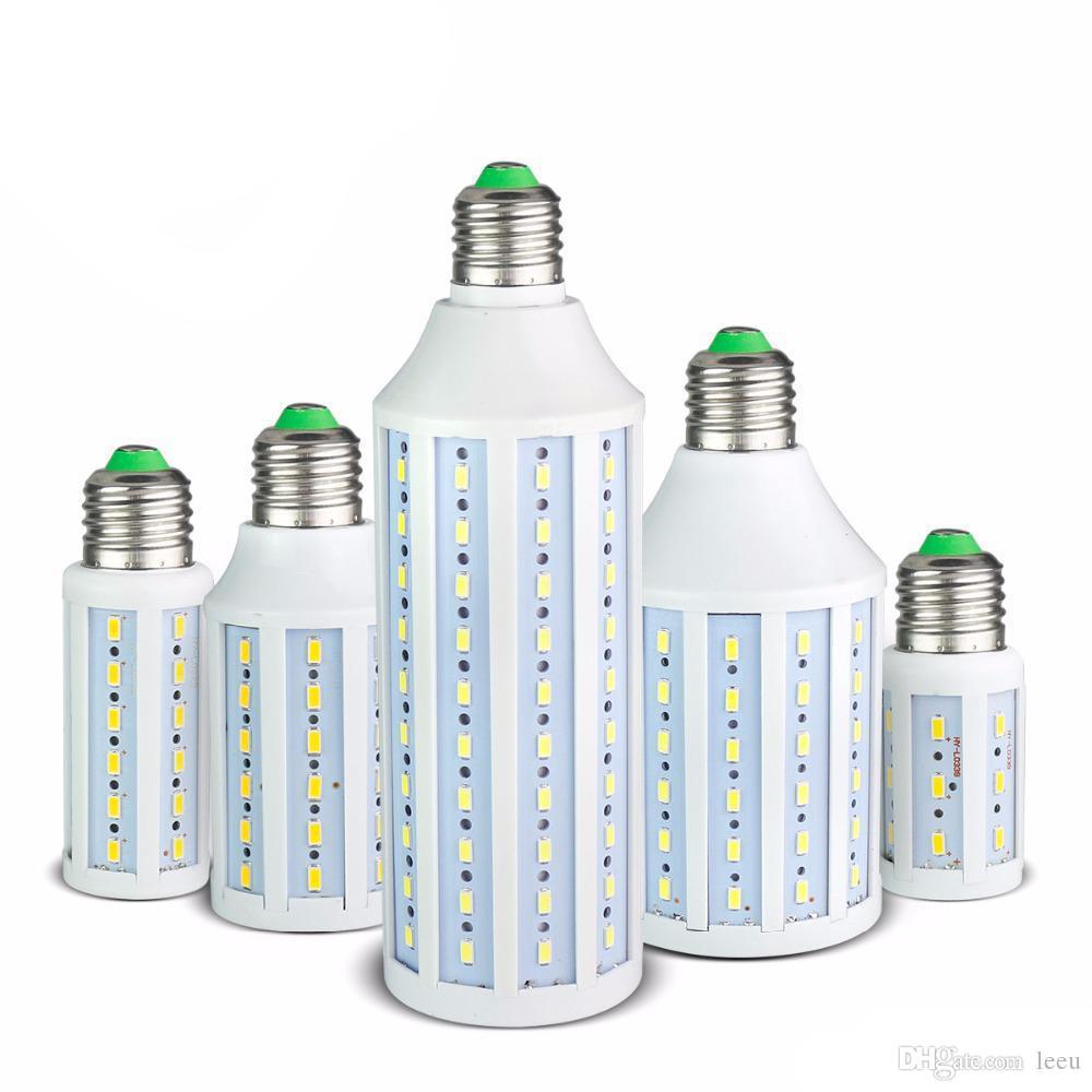 7W 12W 15W 25W 30W 40W 50W LED lampadina di mais SMD5730 No Flicker 85V-265V Faretto lampada a LED per illuminazione luminosa