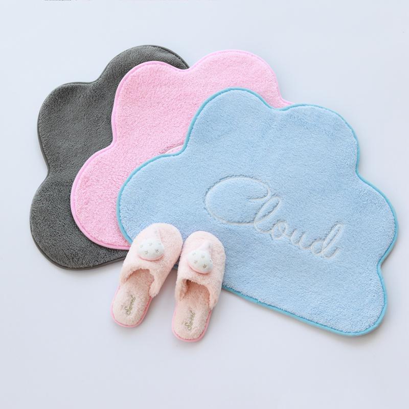New 1pc 50 * 67cm Nordic style Nuage peluche en coton Tapis Tapis Tapis pour enfants Game Pad Crawling Mat Room Décoration Coussin Tapis