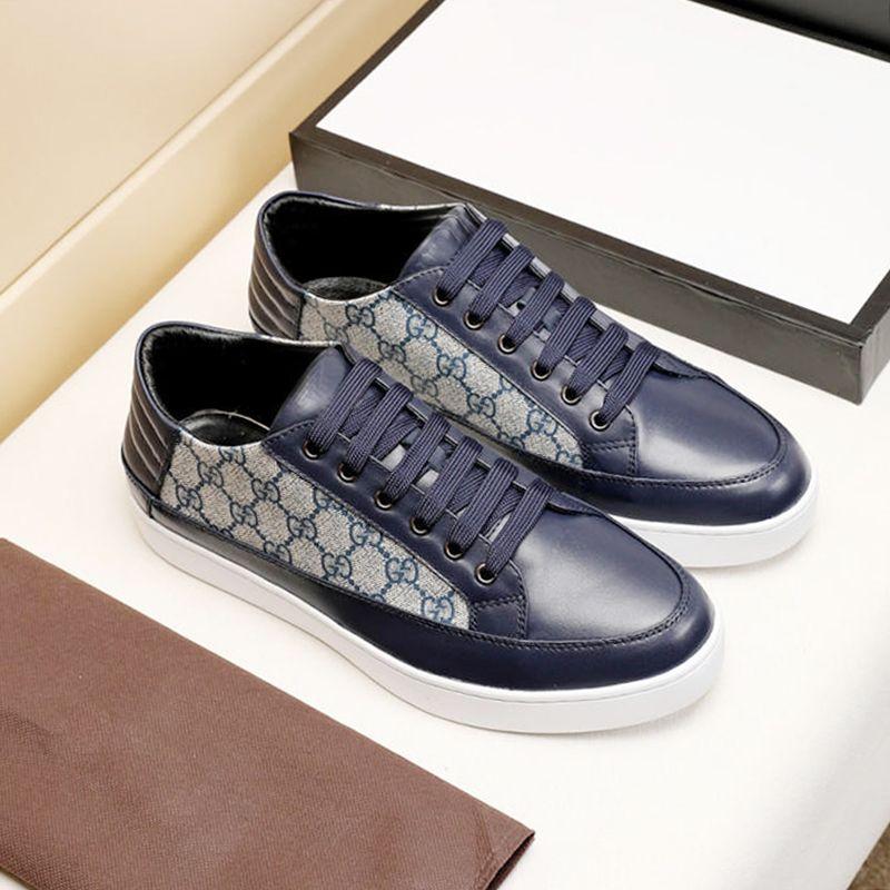 Erkek Ayakkabı Rahat Erkek Footwears Hafif Tasarım Ayakkabı Spor Spor Eğitmenler Orijinal Kutusu ile Zapatos de hombre Bırak Gemi