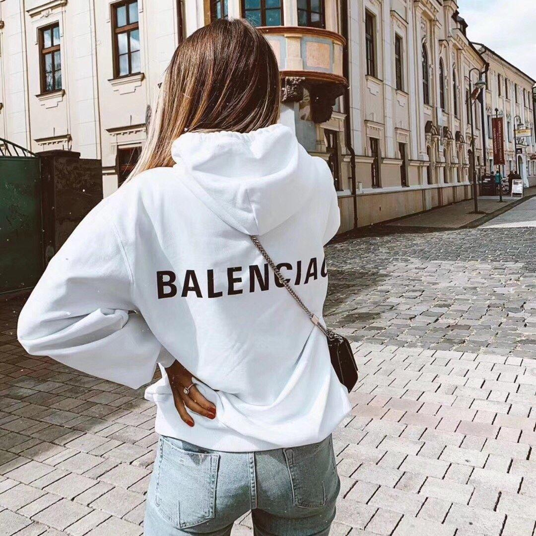 19SS neue Ankunfts-Marken-Art- und Weisebeiläufige Frauen Menshoodies-heißen Verkauf-Qualitäts-freies Verschiffen Herbst-Winter Luxus Pullover O-Ansatz B103963Y