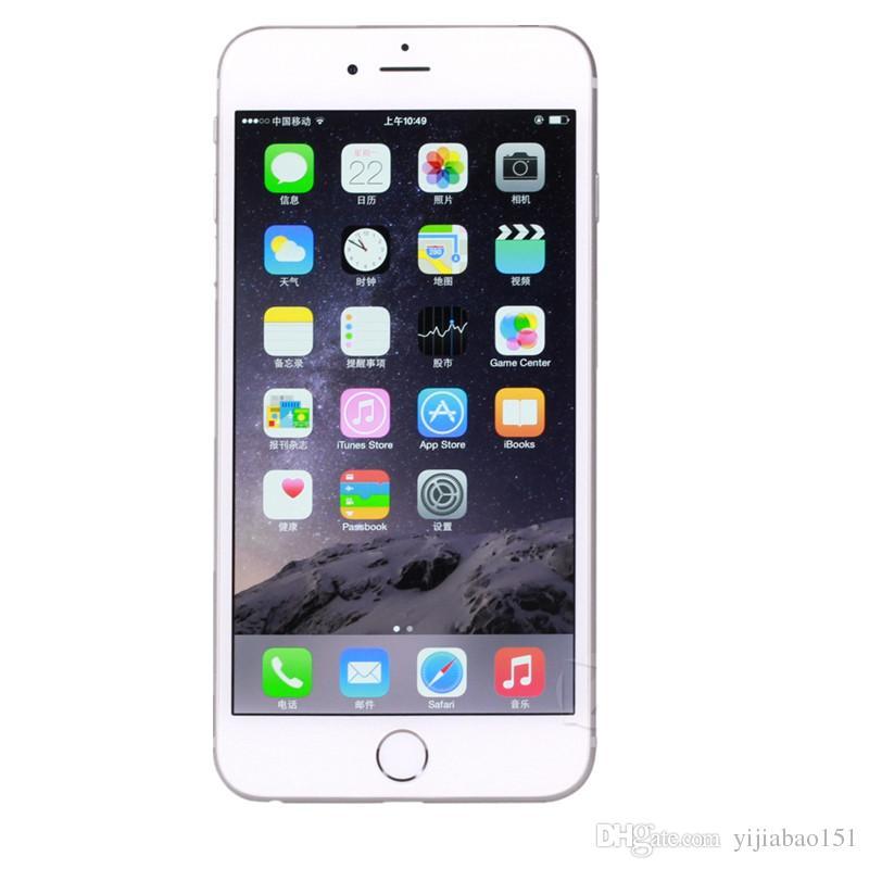 """Original recondicionado apple iphone 6 telefones celulares 16g ios subiu de ouro 4.7 """"i6 smartphones eua versão atacado china dhl livre"""