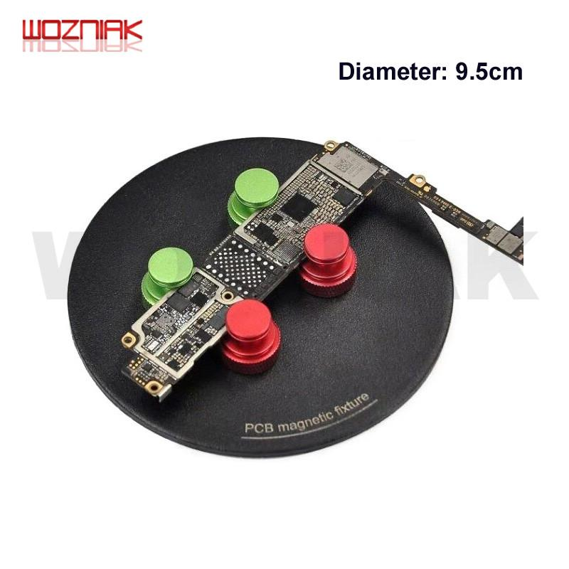 Multifunctional strong magnetic main board fixture Microscope disc base Mobile mainboard maintenance PCB Fixed magnetic clamp