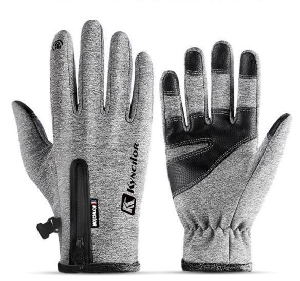 популярный сенсорный экран перчатки холодной доказательство мужчины женщины Спорт Перчатки флис утолщенной зимой на открытом воздухе верхом теплый водонепроницаемый подготовки yakuda 2020