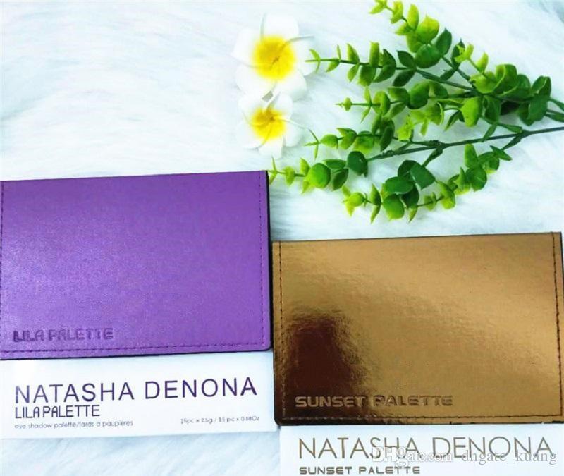 Alta Qualidade Natasha Denona Paleta De Maquiagem Tropic Eyeshadow Paleta Da Sombra de Cosméticos Highlighter para Meninas 15 cores Frete Grátis