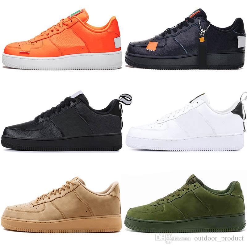 Nike Air Force One Marca De Fábrica Barata 1 Dunk Zapatos De Moda Para  Mujer Para Hombre Corte Alto Negro Blanco Zapatillas De Deporte  Skateboarding ...